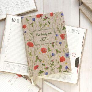 Personalizowany kalendarz 2022 – łąka pełna kwiatów