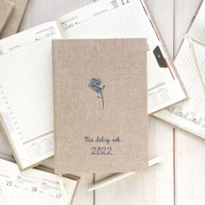 Personalizowany kalendarz 2022 – niezapominajka